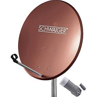 Schwaiger SPI5502SET1 SAT sistema sin receptor número de participantes 1