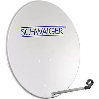 Schwaiger SPI2080 SAT anténa 80 cm Reflexní materiál: hlinitý hliník šedý