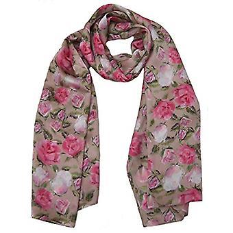 英国玫瑰丝设计师围巾