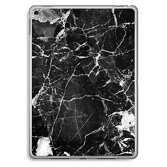 iPad Pro 9,7 tommers gjennomsiktig sak (myk) - svart marmor 2
