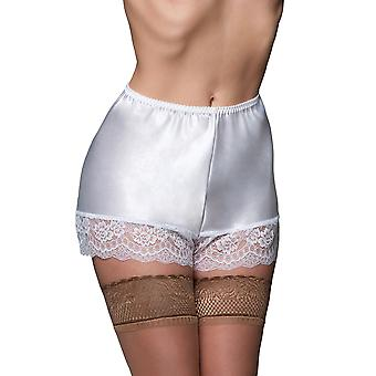 Nylon Dreams CAMI 1 Women's White Lace Retro French Knickers