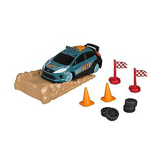 Weg Rippers 21200 Rally Stunt Playset Ford auto, oprit & accessoires nieuw