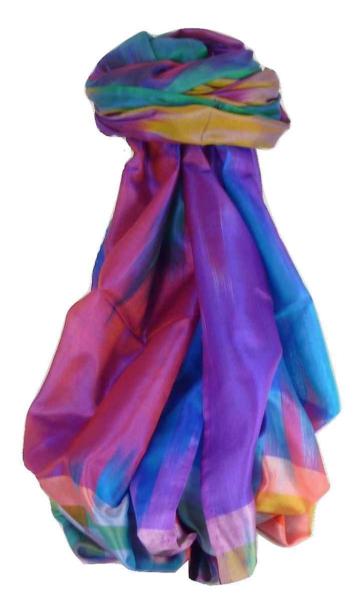 Varanasi Ekal Premium Silk Long Scarf Heritage Range Persad 9 by Pashmina & Silk