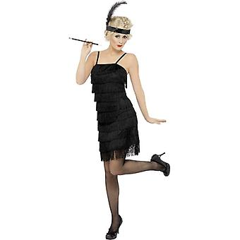 Abito di frangia Flapper Costume, UK 20-22