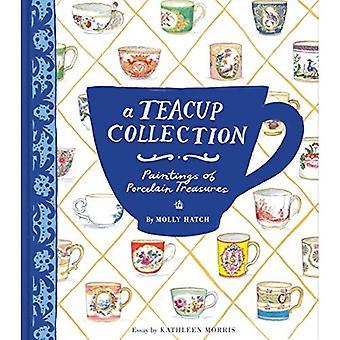 Une Collection de tasse à thé: Peintures des trésors de porcelaine
