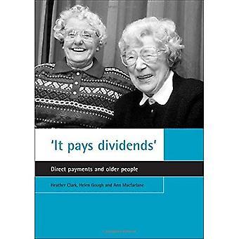 Es zahlt sich aus: Direktzahlungen und ältere Menschen