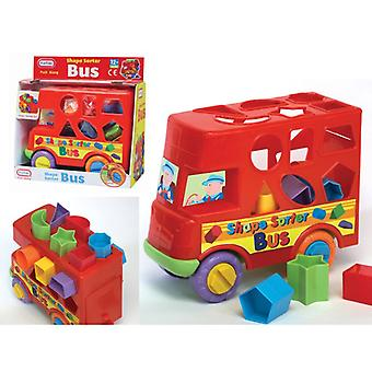 Fun TIme Push Along Bus Shape Sorter