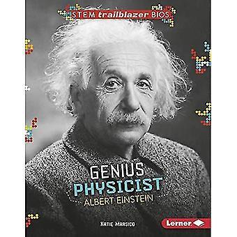 Genio físico Albert Einstein (vástago Trailblazer Bios)