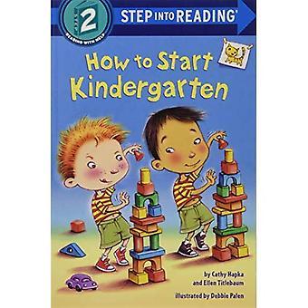 Hoe te beginnen kleuterschool (stap in lezing)
