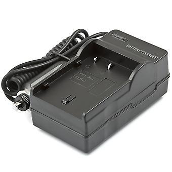 AC/DC-laddare för Panasonic DMW-BTC10 DMWBTC10 för DMW-BLF19 DMWBLF19
