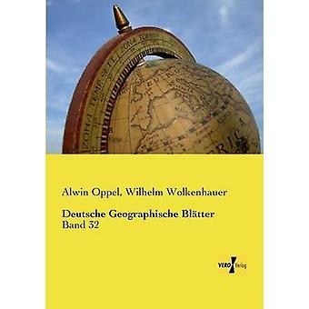 Deutsche Geographische bittert av Oppel & Alwin
