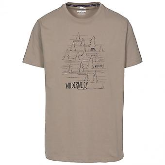 Trespass Mens Forest Quick Dry Short Sleeve Graphic T Shirt