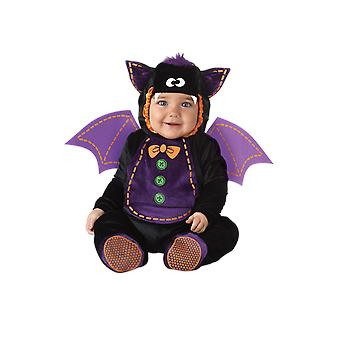 Kids Baby Bat Onesie Halloween Animal Fancy Dress Costume