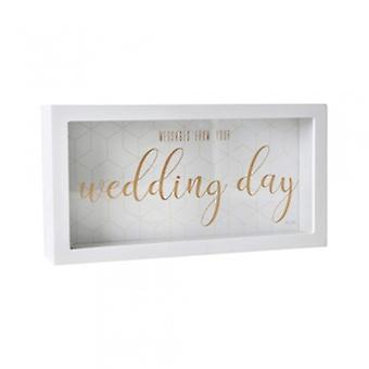 Boîte de message de jour de mariage splosh