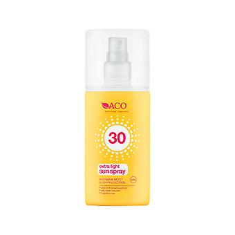 ACO Extra Light Sun Spray SPF 30 150ml ACO Extra Light Sun Spray SPF 30 150ml