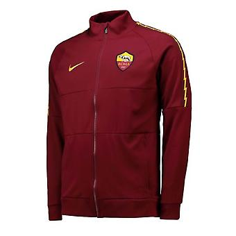 2019-2020 AS Roma Nike I96 Jacket (Red) - Kids