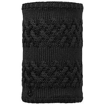 Buffera nero Savva maglia scaldacollo & Polar reversibile