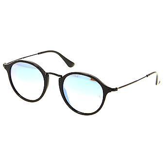 Ray-Ban Round Fleck Flash verres dégradé lunettes de soleil RB2447-901/4O-49