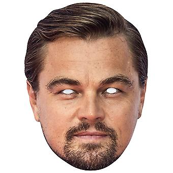 Leonardo DiCaprio Celebrity Single 2D Card Party Fancy Dress Mask