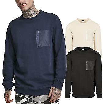 Urban Classics - MILITARY Army Crewneck Sweater Sweater