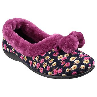 Mirak Womens Bayeux Klassiska Slipper Plommon