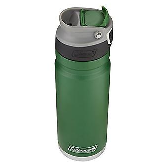 Coleman 2015805 ReCharge AUTOSEAL Insulated Stainless Steel Thermal Mug, Green, 20 oz.