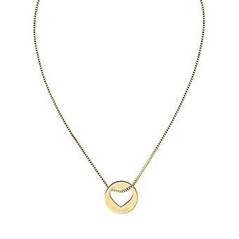 Tommy Hilfiger halsband med en lastabile stål kvinna hänge-2701075