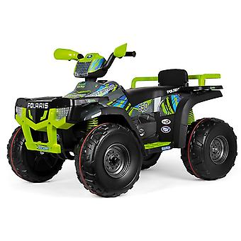 Peg Perego 24V Polaris Sportsman 850 Quad Bike Lime