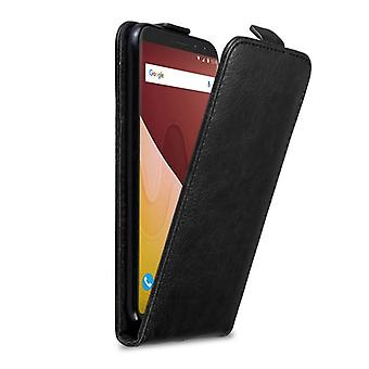 Cadorabo Case for WIKO VIEW GO Case Cover - Phone Case in Flip Design with Magnetic Closure - Case Cover Case Case Case Case Book Folding Style