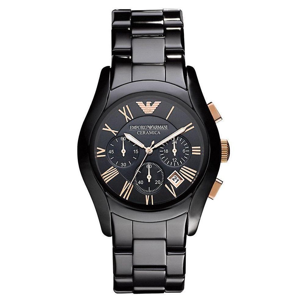 Emporio Armani Men's Ceramic Chronograph Watch AR1410