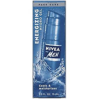 Nivea For Men Energizing Hydro Gel  2.5 fl oz / 75 ml (Pack of 2)