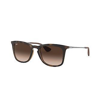 Ray-Ban RB4221 865/13 Dark Rubber Havana/Brown Gradient Sunglasses