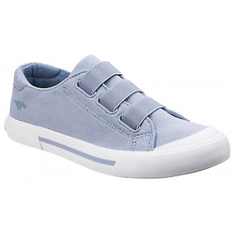 Rocket Dog Jamaica Cloud 9 Ladies Cotton Elasticated Trainers Sky Blue