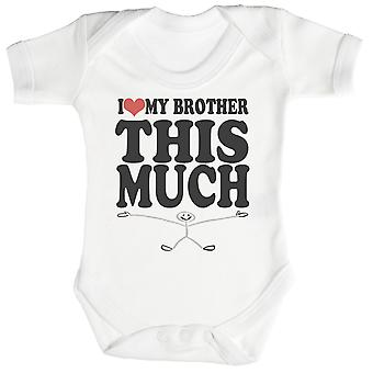 Hou van broer dit veel Baby Romper / Babygrow