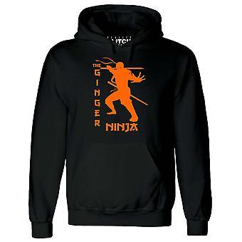 Gember Ninja mens hoodie