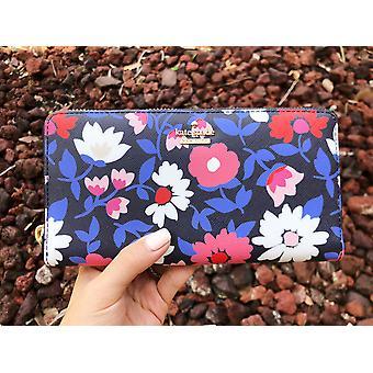 Kate pata cameron street daisy lacey zip noin lompakko sininen moni kukka