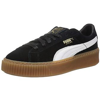 Puma Womens Platform Trace lage Top Lace Up Fashion Sneakers