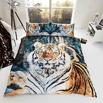 Tiger Duvet Cover Bedding Set