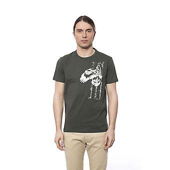 T-shirt manches courtes Vert militaire Bagutta homme