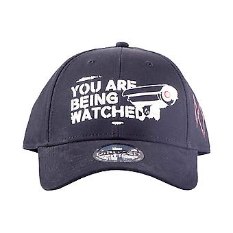 Watch Dogs Baseball Cap Legion You are being watched Official Black Strapback