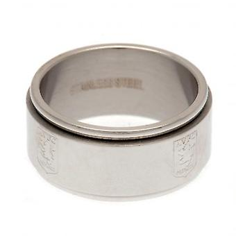 Aston Villa FC Mens Spinner Ring