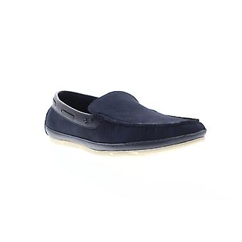 Unlisted door Kenneth Cole Regotta Slip On Mens Blue Suede Casual Loafers Schoenen