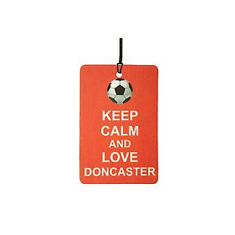 Keep Calm And Love Doncaster Car Air Freshener