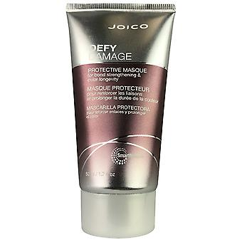 Joico desafía el daño de la mascarilla protectora del cabello para el fortalecimiento de la unión y la longevidad del color 1.7 oz