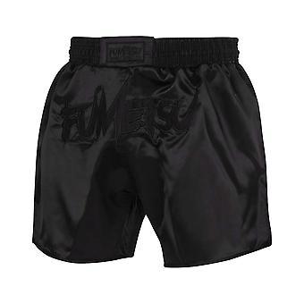Fumetsu CSC Muay Thai Shorts Black/Black