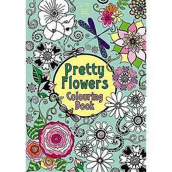 Pretty Flowers Colouring Book by Hannah Davies - Hannah Davies - 9781