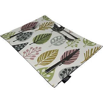 Mcalister textiles magda blush pink table placemat sets