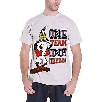 T أبله قميص ديزني فريق واحد واحد حلم شعار رجالي الرسمية الجديدة هيذر غراي