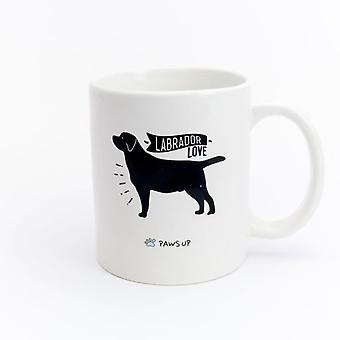 Paws Up Mug Labrador Love (PetLovers)