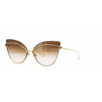 DITA Nightbird One DTS515 01 White Gold/Dark Brown-Pink Gradient Sunglasses